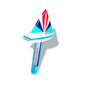 Sail Boat Soft Top Floating Thermometer